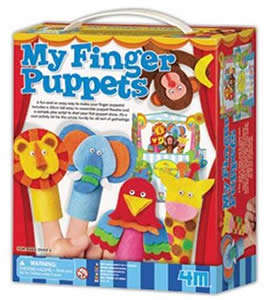 Make Your Own Finger Puppets Kit