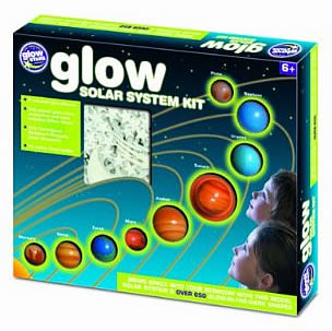 Glow In The Dark  Solar System Kit