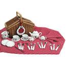 Ladybird Tea Set and Picnic Basket