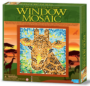 Window Mosaic - Giraffe