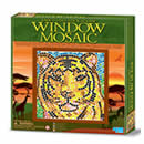 Window Mosaic - Tiger
