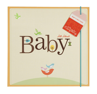 All About Baby Record Book
