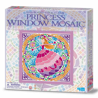 Window Mosaic - Princess