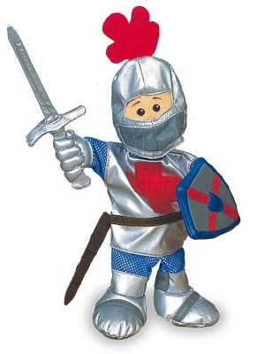 St George Knight Puppet
