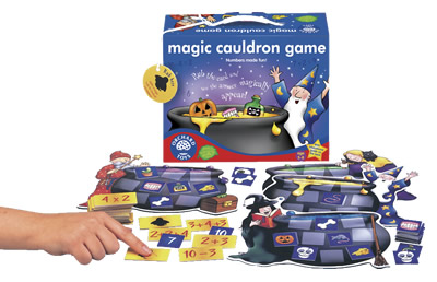 Magic Cauldron Maths Game