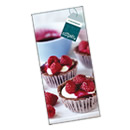 Magnetic Notepad - Raspberries