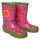 Paint Your Own Wellies - Pink