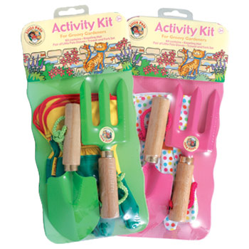 Green Children's Mini Gardening Set