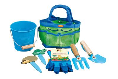 Junior Gardening Kit - Blue