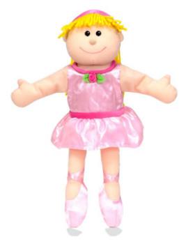 Ballerina Hand Puppet