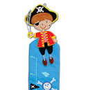 Pirate Height Chart