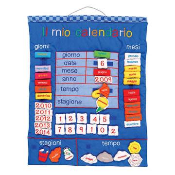 My Calendar In Italian (Il Mio Calendario)