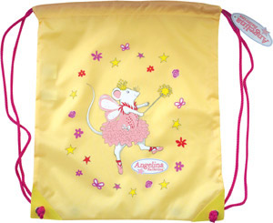 Angelina Ballerina Yellow Kit Bag