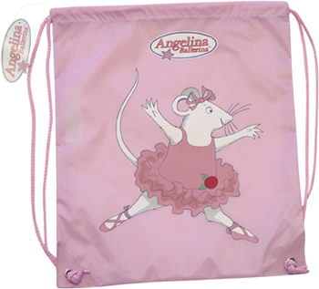 Angelina Ballerina Pink Kit Bag