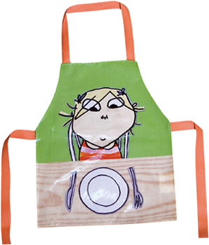 Charlie and Lola Mealtimes Apron