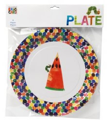The Hungry Caterpillar Plates