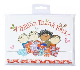 Charlie & Lola Thank You Cards