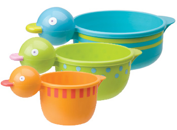 Quacky Cups With Rubber Duck Squirter