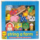 Wooden Stringing Set - Farm