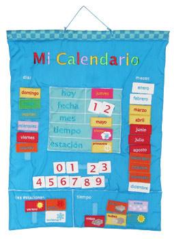 My Calender in Spanish  (Mi Calendario)