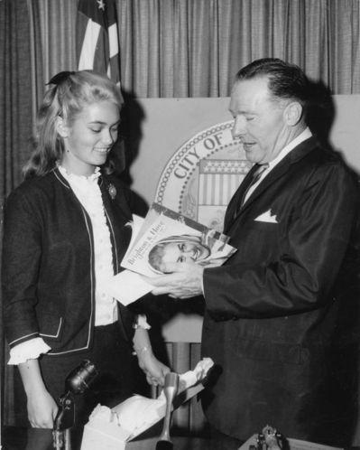 Alex and Mayor of LA