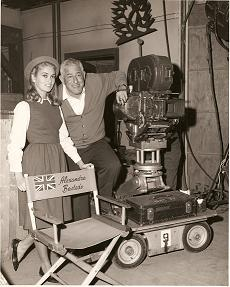 Alexandra with William Castle
