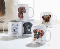 Dog breed mug from The Original Gift Company