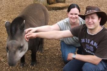 Tickle a tapir in Hertfordshire