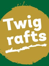 Make a twig raft