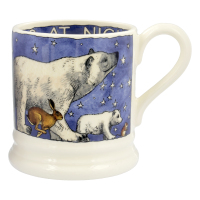Winter Animals 1/2 Pint Mug
