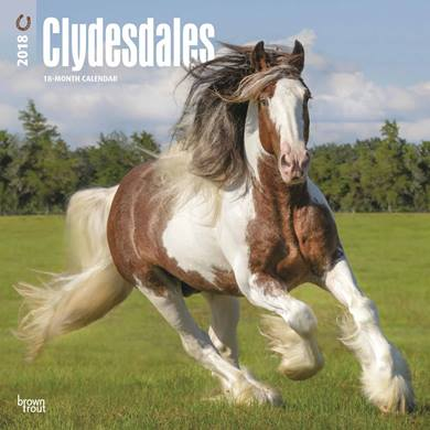 Click on the Clydesdale to see the range of animal calendars for 2018