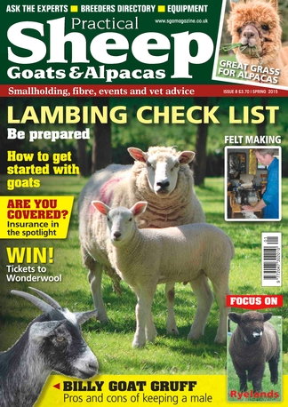 Practical Sheep, Goats and Alpacas magazine subscription