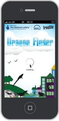 Check out this app called Dragon Finder from Froglife