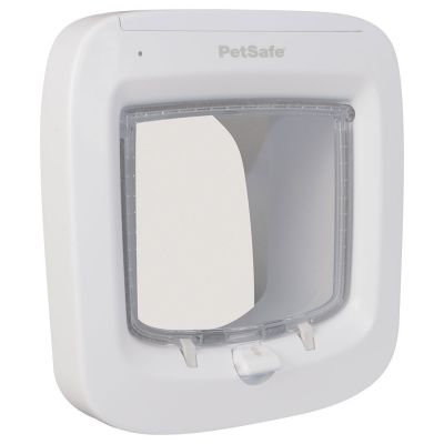 The PetSafe Microchip Cat Flap is on offer through Zooplus.co.uk