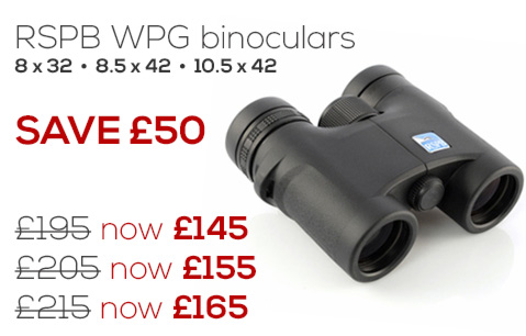Special offers from the RSPB Online Shop on binoculars