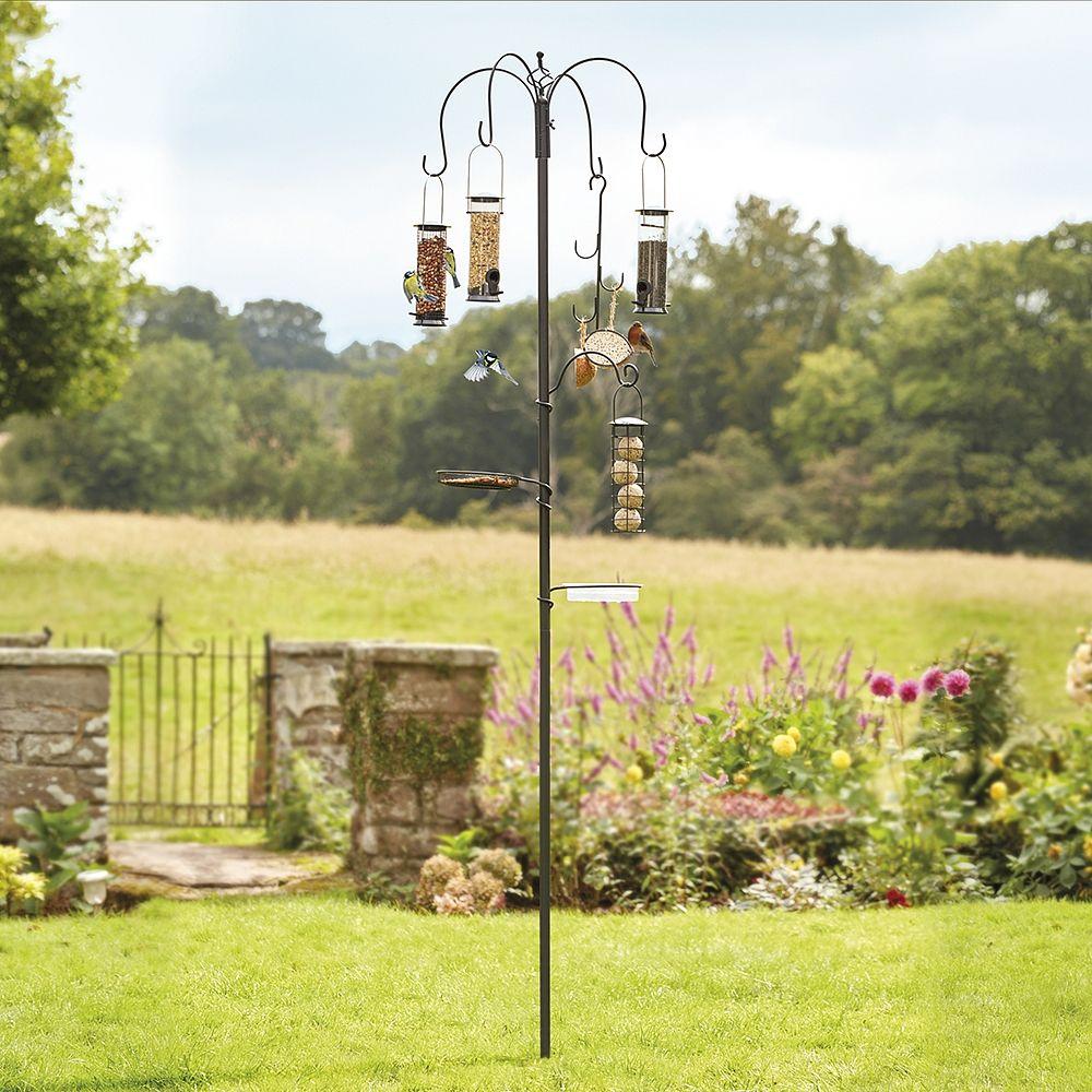 Bird Feeding station wtih 4 feeders from Thompson & Morgan
