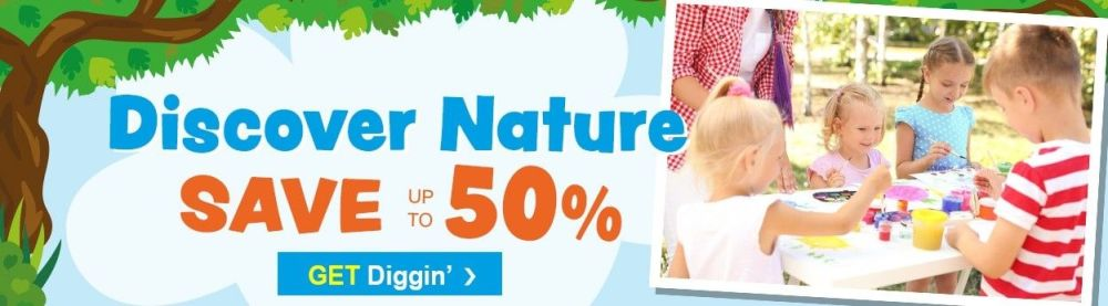 Discover Nature - save up to 50% off at Baker Ross