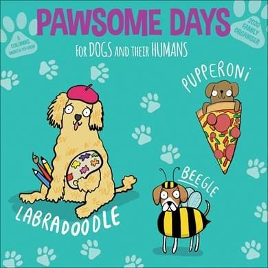 Pawsome Days Family Planner 2020