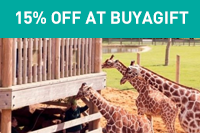 15% off at BuyaGift.co.uk using the code AHW15JUL before 31 July 2020