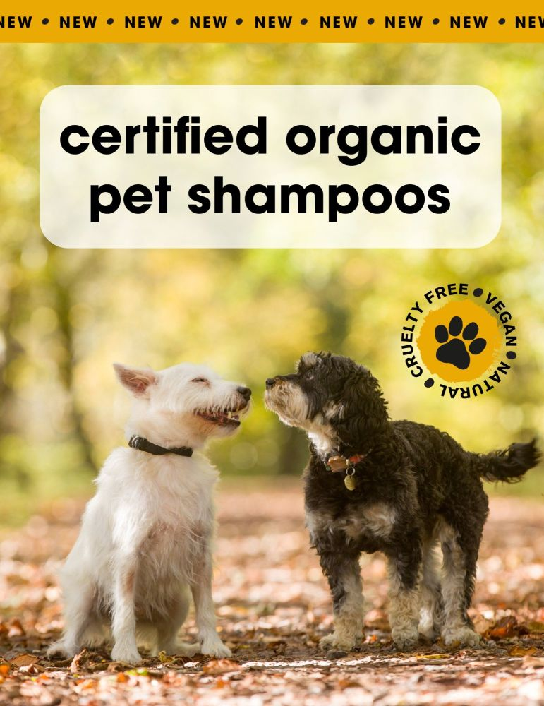 Take a look at Green People's new Pet Shampoo!