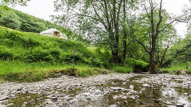 How about a Two Night River Yurt Retreat for Two in Wales?