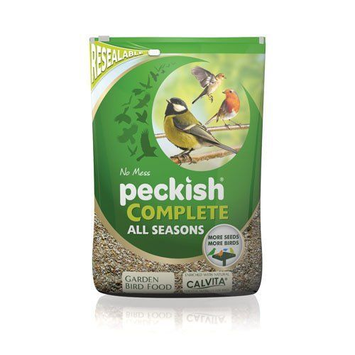 Peckish Complete Seed and Nut Mix No Mess from Garden Wildlife Direct