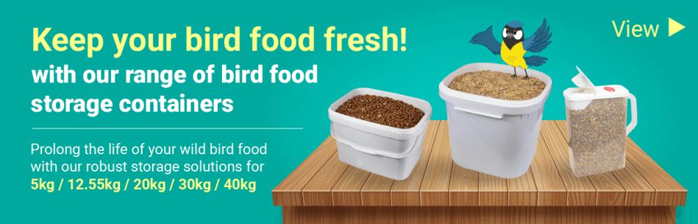 Keep your bird food fresh!