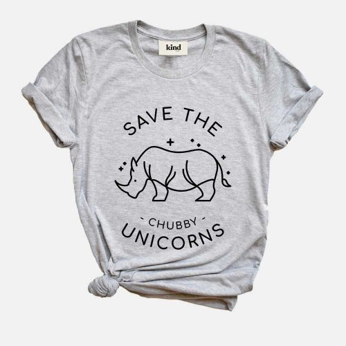 Save The Chubby Unicorns - Organic Cotton T-Shirt