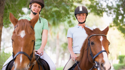 Overnight Horse Riding Break for Two