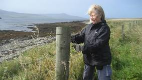 The RSPB has some residential volunteering holidays in the UK