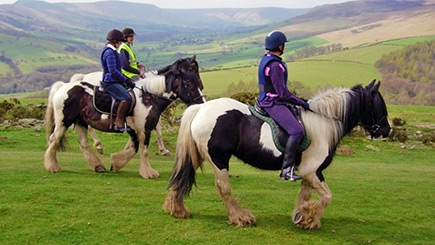 Horse Riding Trek and Tea for Two, Derbyshire