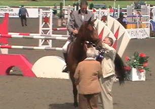 Rydam Regis receiving his prize