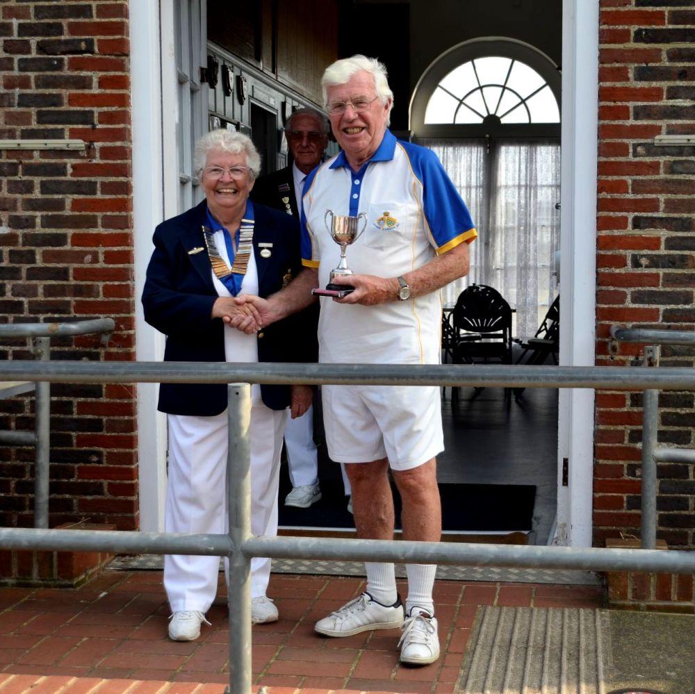 Alan Paterson - 100 Up Winner