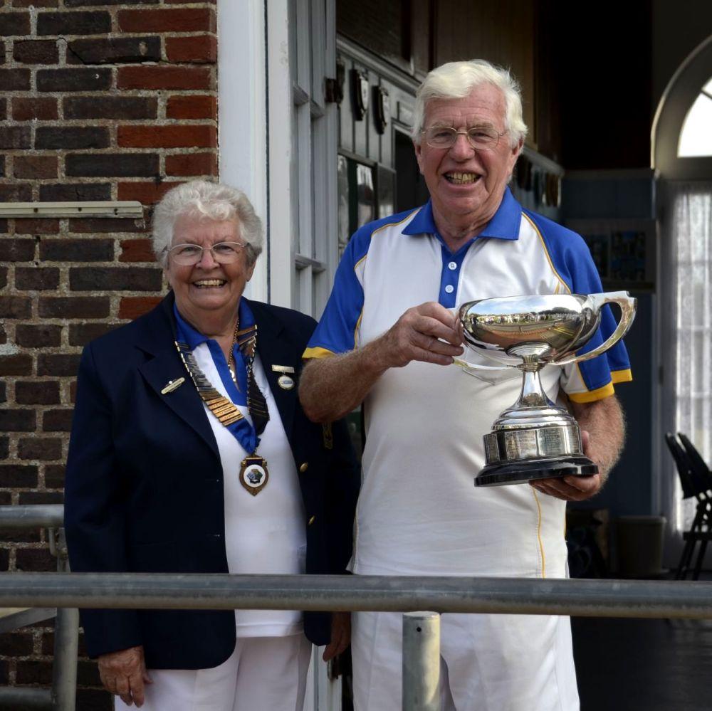 Alan Paterson - Two Wood Singles Winner